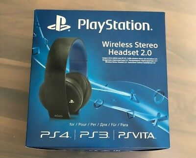 Sony Playstation 4 Wireless Stereo Headset 2.0 für PS4, PS3, PS Vita