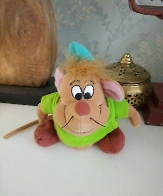 Cinderella Gus Gus Soft Toy Plush collector's special item