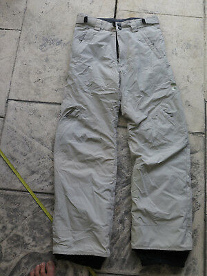 Womens SnoSky Snow Skiing Pants Gore-tex Ex Cond Womens M tall see measurements