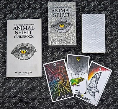 The Wild Unknown Animal Spirit Deck + Guide Book 1st Edition Oracle Cards
