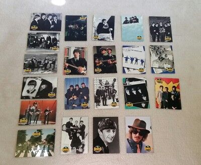 Job Bulk Lot of 21 THE BEATLES COLLECTION Trading Swap Cards - Great!