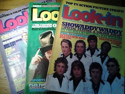 look in magazine,1980, madness,abba,showaddywaddy, wings