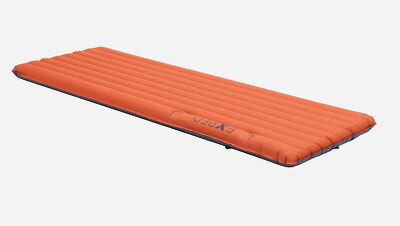 Exped Synmat 7 Insulated Air Mattress Long Wide with integrated pump.