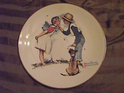 Norman Rockwell Collector Plate From Four Season Collection