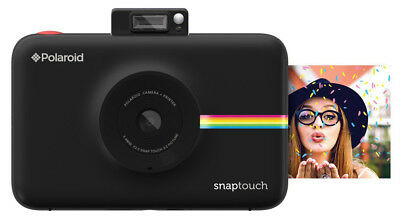 Polaroid Snap Touch Instant Print Digital Camera With LCD Display (Black) with