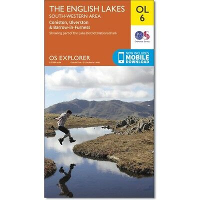 Explorer Maps: The Lake District South - 2 map set  OL6, OL7