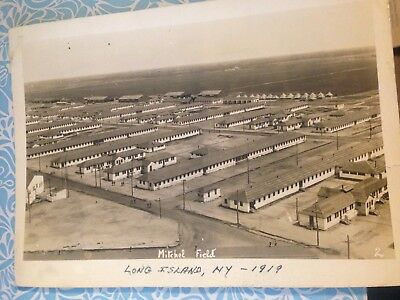 vintage 1919 long island NY Mitchel Field 5x7 photo picture military ?