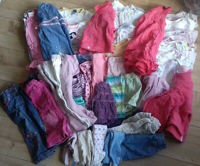 Huge bundle of girls clothes age 12-18 months. Lots of Next. 56 items.