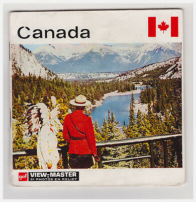 View Master   Canada   A 099     In Francese     A Libretto   Nations Du Monde