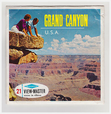 View Master  Grand Canyon    Usa    In Italiano    A 361