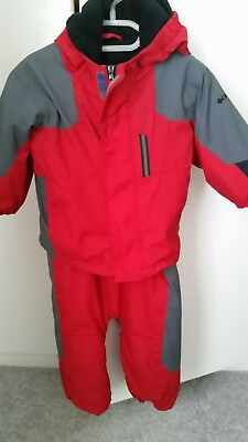 Columbia waterproof trousers and jacket 18 months