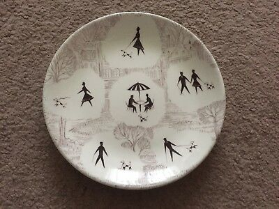 Swinnertons pottery 'springtime' side plate 1950s midwinter homemaker Meakin