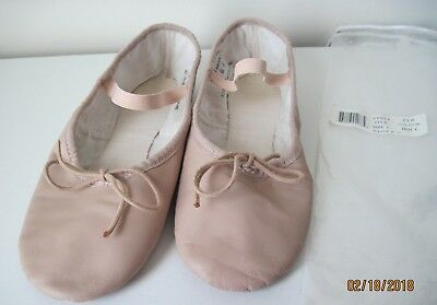 Pink Leather Ballet slipper Size 6 Style: CLR
