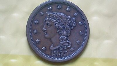 1857 Large Cent (Large Date)