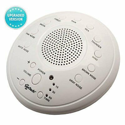 Machine Sleep Sound Noise White Therapy Sounds Night Nature Relax Baby With Easy