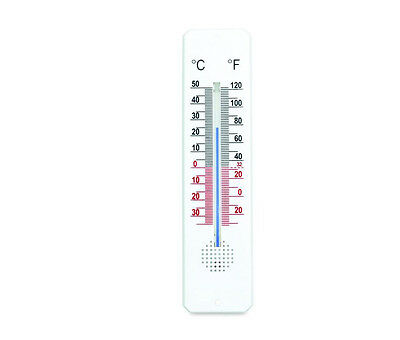 Vertical Spirit Filled Room Thermometer