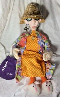 "24"" Talking Maxine Poseable Doll With Shopping Bag"