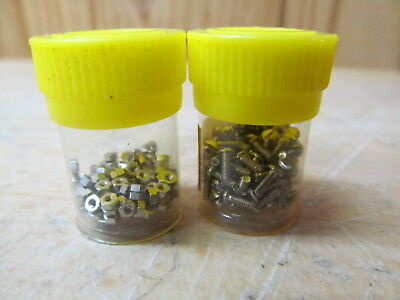 Vintage Eyeglasses Sunglasses Parts – Temple Screws/Bolts and nuts for Ray bans