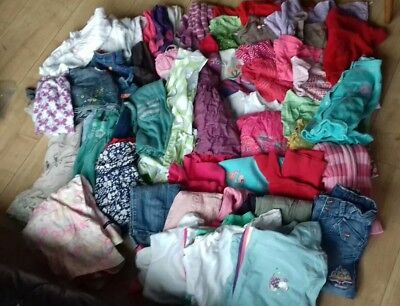 Huge bundle of girls clothes age 2-3 Next, H&M etc. 65 items. All you need.