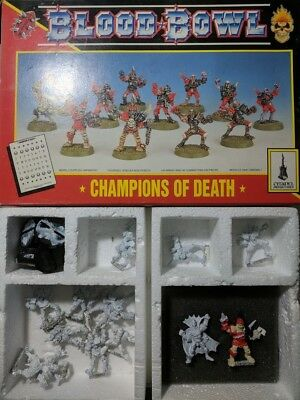 Blood Bowl Champions of Death inklusive Count Luthor *RAR*