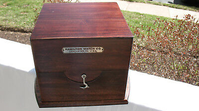 Hamilton model 22 gimbled chronometer outer box