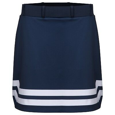 Cross Damen Stretch Skort Rock aus Funktionsfaser Navy Blau Größe M VK 99,-