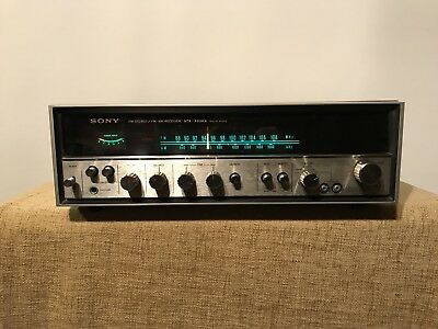 Vintage Sony STR-6036A FM Stereo FM-AM Receiver Amplifier Made In Japan