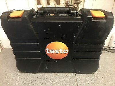 testo gas and combustion analyser.