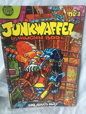 Junkwaffel 1 - 1971 - Bodé - US Underground - Great Condition