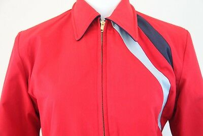 Super Cool Vintage Outerwear 1960's Ski Jacket-Reversible 100% Cotton and Wool