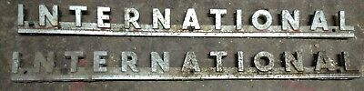 international tractor, implement nameplates