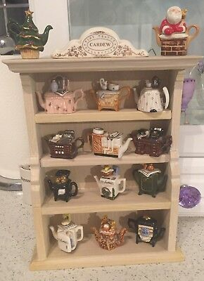 Tiny Cardew Teapots and Dresser
