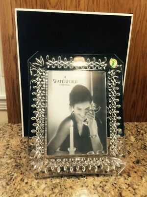 Brand New Waterford Crystal Lismore Picture Photo Frame 5 x 7 New. Unused
