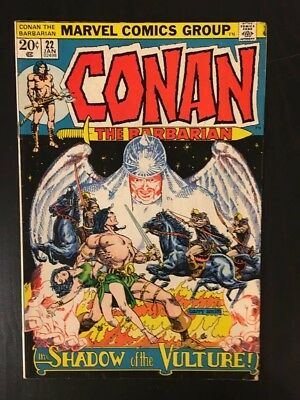 Conan the Barbarian #22 VF 8.0 High Grade (Jan 1973, Marvel)