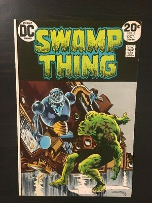 Swamp Thing #6 (Sep-Oct 1973, DC) VF/NM 9.0 Wrightson