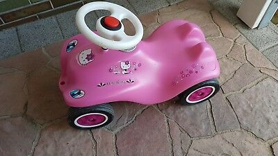 Original Bobby Car Hello Kitty rosa pink BIG Rutschauto
