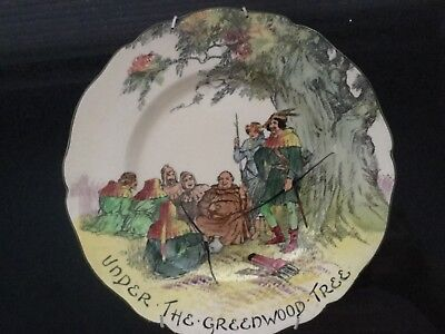 Royal Doulton plate Under the Greenwood Tree b3751