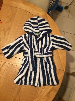Baby Boy John Lewis 6-9 Months Dressing Gown