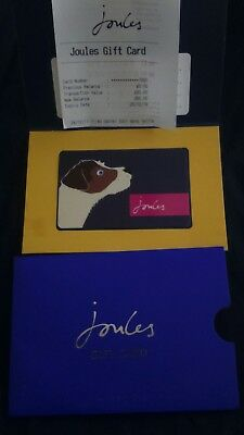 Joules £60 gift card