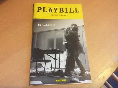 Blackbird (New York March 2016)  NYC Playbill Programme Signed by both Actors