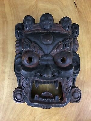 Nepalese Antique Mask Wood