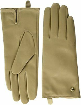 GUESS NOT Coordinated Leather Gloves-AW6321LEA02, Guantes para Mujer, Beige (NU