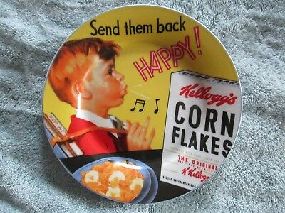 Kellogg's Corn Flakes 'Send Them Back Happy' 8 Inch Collector's Plate