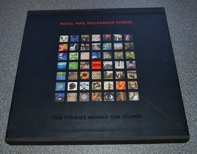 1999 Royal Mail Millenium Stamps Year Book. The Stories Behind Stamps.