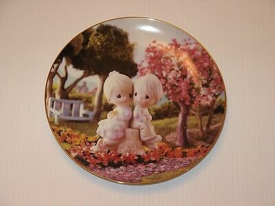 Precious Moments Plate Love One Another Sam Butcher Numbered Made In USA