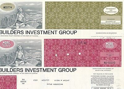 Lot: 2 x Builders Investment Group