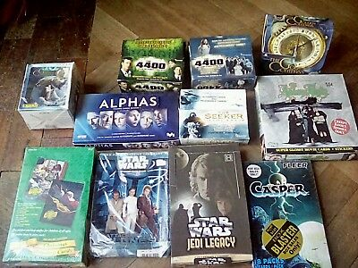 Trading card sealed boxes star wars casper etc collection unsealed strickers