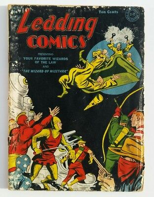 Leading Comics #7 Golden Age low grade