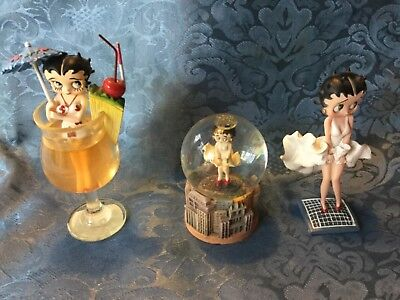 3 Betty Boop Figure Package