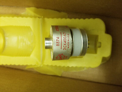 Eimac 3Cx400A7 / 8874 Nos Tube With Socket  - 1 Piece